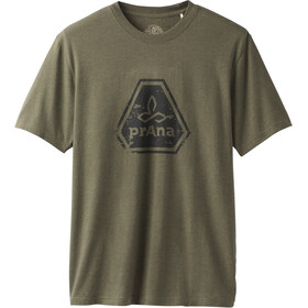Prana Icon Shortsleeve T-Shirt Herr cargo green heather